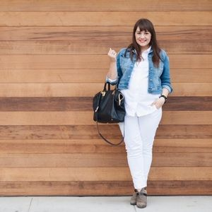 "GAP Denim - White Maternity ""Always Skinny"" Jeans"