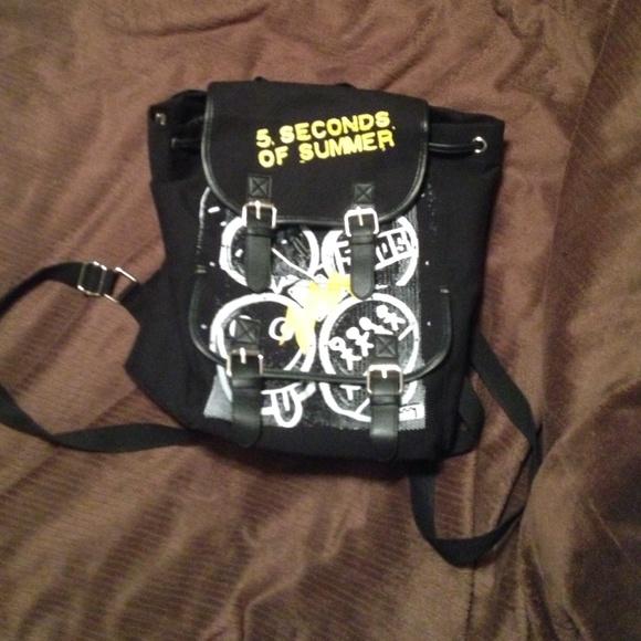 bag Differ 5 Seconds of Summer 5SOS School Bag unique de