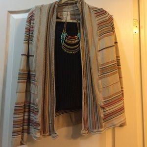 Billabong striped Cardigan sweater