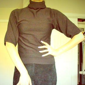 New York & Company black turtleneck sweater sz. XS