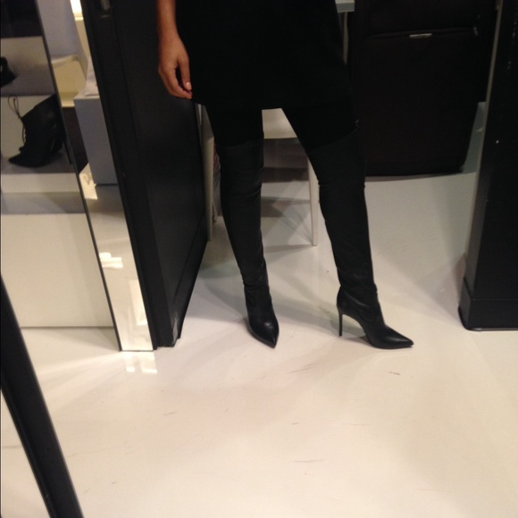 29% off SCHUTZ Boots - Schutz leather charmes over the knee boots ...
