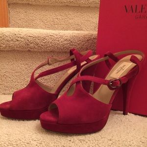 Valentino Shoes - VALENTINO GARAVANI  Rouge Red Sandal