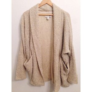 Forever 21 Sweaters - Forever 21 Sherpa Oversized Boyfriend Cardigan, M