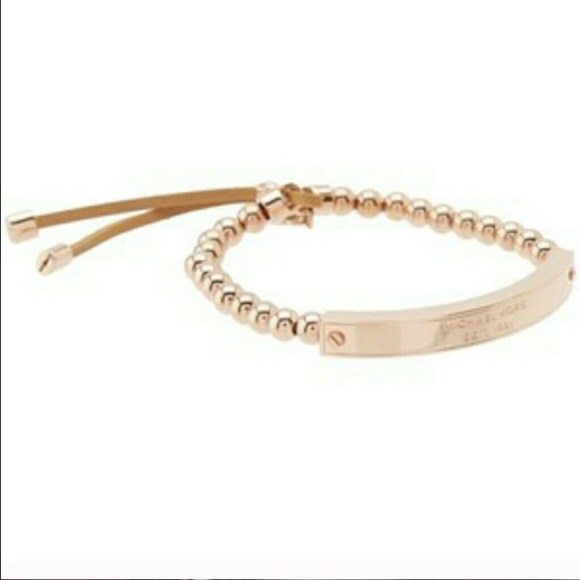 f7bf89c34e705 Buy michael kors rose gold beaded bracelet   OFF64% Discounted