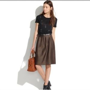 Madewell Dresses & Skirts - Madewell Striped Voluminous Skirt