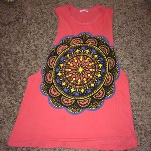 Urban outfitters coral tank top