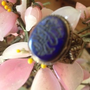 Antique lapis ring Bundle