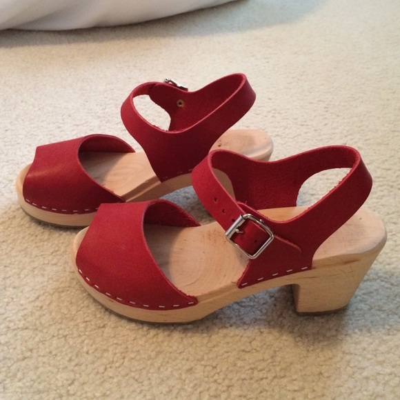 Clog Swedish Lotta From Poshmark Stockholm ShoesRed Sandals vIYf76gyb