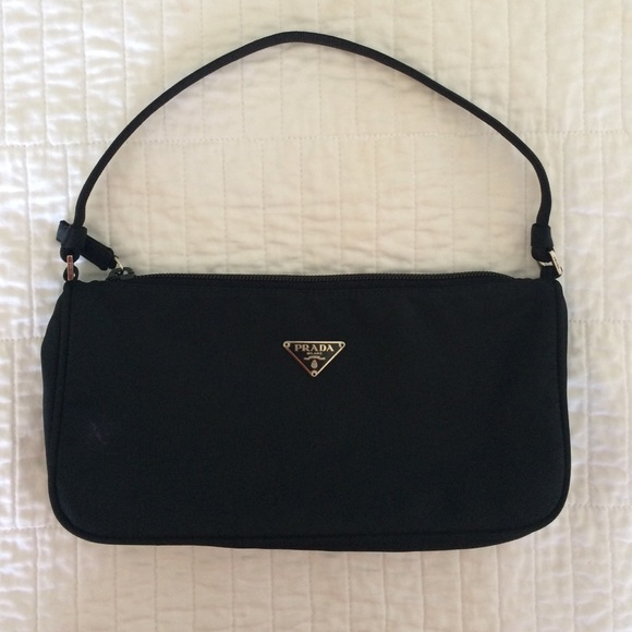 fc4c164cd2 Authentic PRADA Nylon Black Mini Handbag. M 54e76c1c4127d01d6c00638f