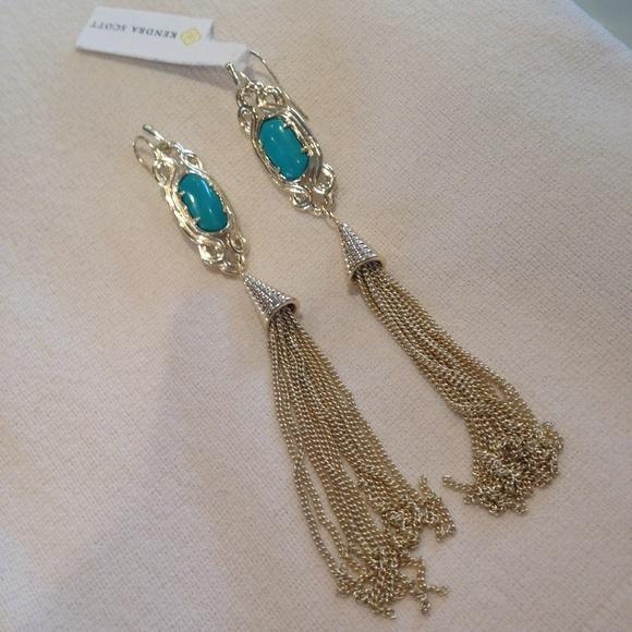 fd4304857 Kendra Scott Jewelry | Erin Tassel Earrings | Poshmark