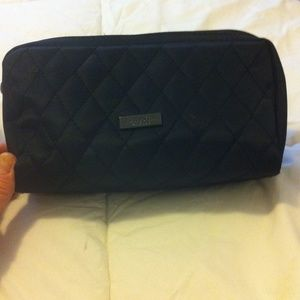 ~Lanvin parfums black quilt sm bag~