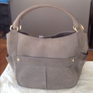 JCrew Suede Handbag