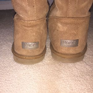 UGG chestnut tall boots size 6