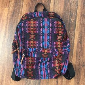 Accessories - Aztec print backpack