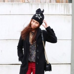 Betsey Johnson Rock Star Beanie