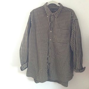 vintage abercrombie oversized flannel