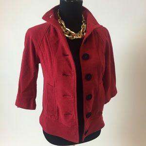 BB Dakota Jackets & Blazers - Red Jacket