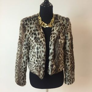 Trouve Jackets & Blazers - Faux Fur Jacket