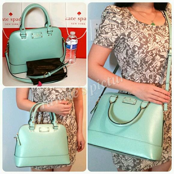 46% off kate spade Handbags - SALE New Kate Spade baby blue ...