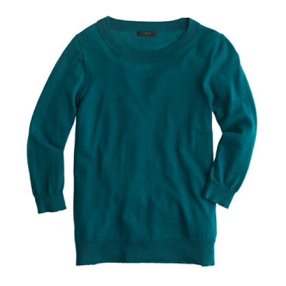 J. Crew Sweaters - NWT J. Crew Tippi Sweater Vivid Jade IN STORES NOW