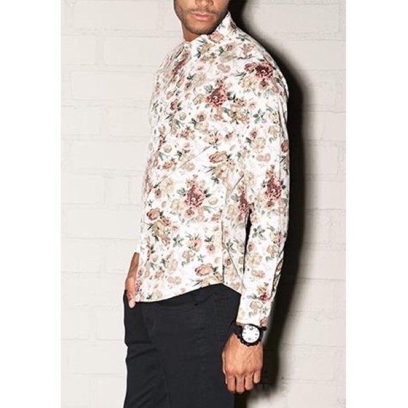 22% off Forever 21 Other - Forever 21- 21 Men Slim Fit Floral ...