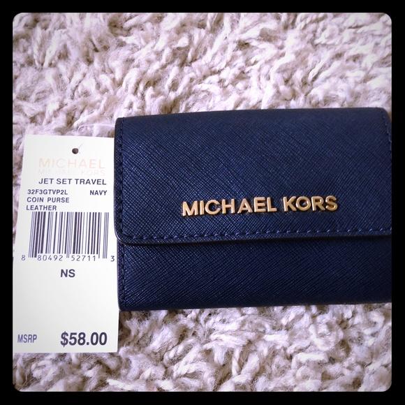 676c3b1ccd33 MICHAEL Michael Kors Bags | Mk Jet Set Travel Saffiano Leather Coin ...