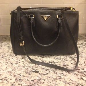 small black prada purse