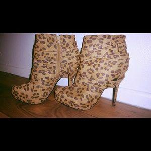 """4"""" Bootie heel"""