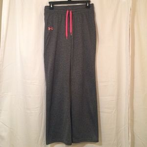 Charcoal Gray Under Armour Storm Sweatpants