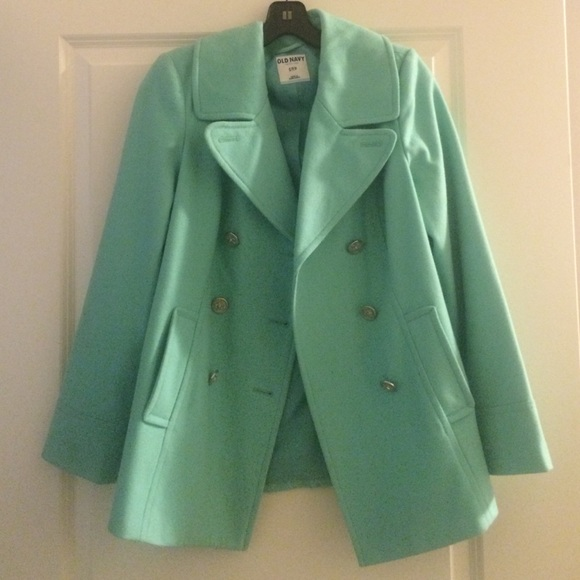 Old Navy - REDUCED PRICE Mint Green Peacoat from Ashleigh's closet ...