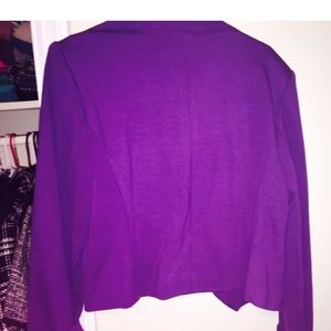 Premise Jackets & Coats - Purple open blazer