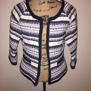 Jackets & Blazers - Size 10 patterned blazer