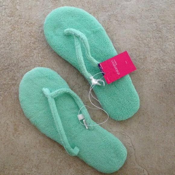 981bfa910 Terrycloth Flip Flop Slippers