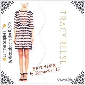 🎉2X HP!! ✨GORGEOUS SILK DRESS by TRACY REESE!