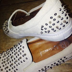 Jeffrey Campbell Shoes - Jeffrey Chambell spike slip ons