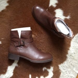 Brand New Dark Brown Booties