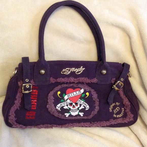 7b392828aacd Ed Hardy Handbags - ED HARDY 7829 Melrose Handbag!
