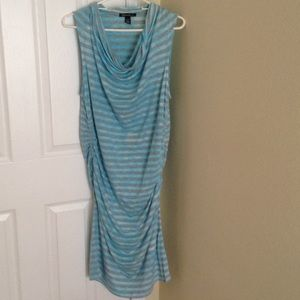 Blue /Grey Bathing Suit Cover-up