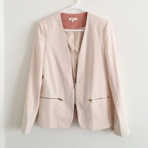 Everly blush pink blazer size S
