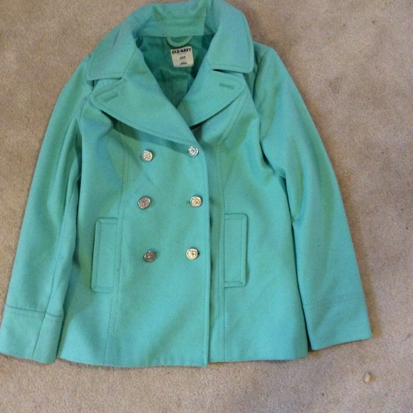 Mint Pea Coat | Down Coat