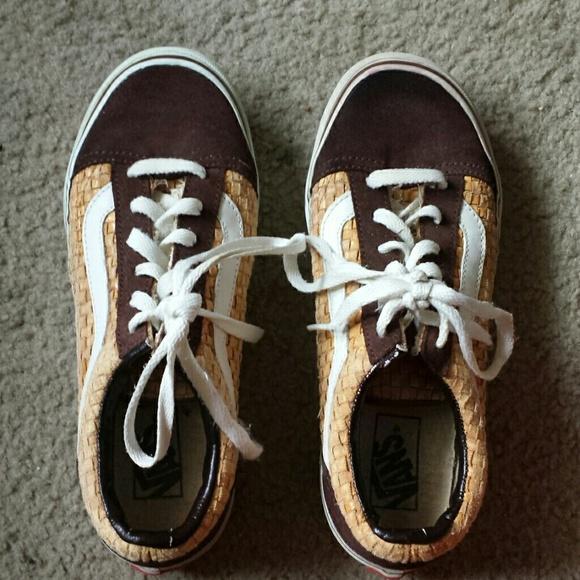 Vans Shoes | Basketweave Womans Vans Shoes | Poshmark