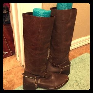 Urban outfitters Ecote tall brown boots!