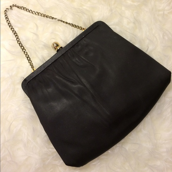 Ande  Bags   Vintage Ande Black Evening Handbag Clutch   Poshmark 866224d2b0