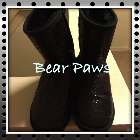 Bear Paws Boots Sparkly Bear Paws Boots Sparkly Bear