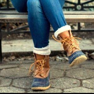98 Off L L Bean Boots Rare Plaid Wool Ll Bean Duck