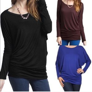 The KARLIE dolman top - 6 colors