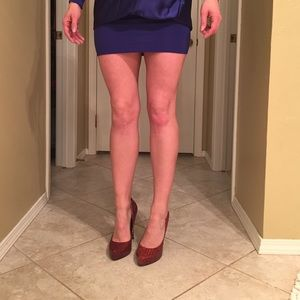 Jessica Simpson Shoes - Jessica Simpson anaconda patent hardly worn