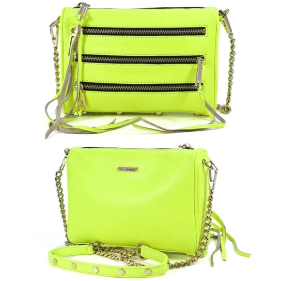 52% off Rebecca Minkoff Handbags - 5-zip leather clutch/crossbody ...
