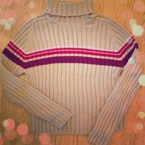 NEW Striped Ribbed Sweater!