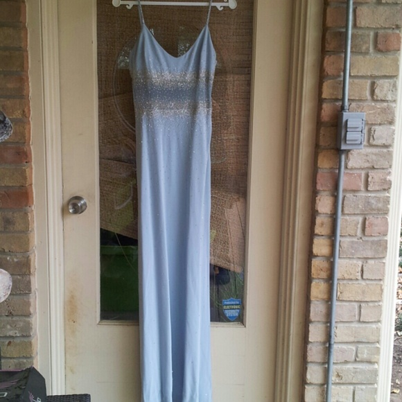 Cache Dresses & Skirts - FLASH SALE! Like New Gorgeous Baby Blue Gown